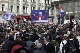 April 2011, Zagreb: Croatia stunned by Gotovina & Markac verdit