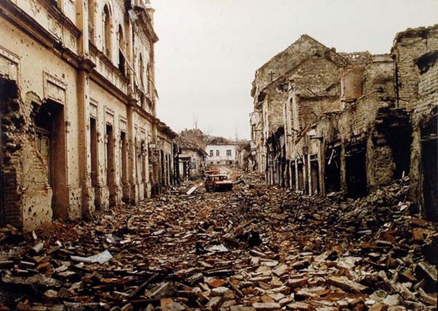 Image result for croatian war destruction