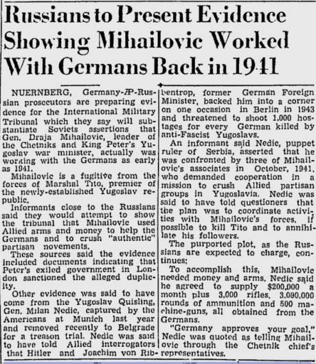 Lewiston Evening Journal 5 February 1946
