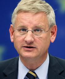 Carl Bildt - Photo: AP