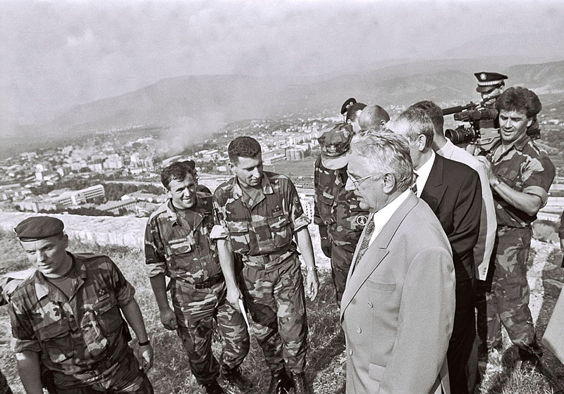 Croatian Operation Storm 5 August 1995 Photo: MORH Ministry of defence Repubplic of Croatia (