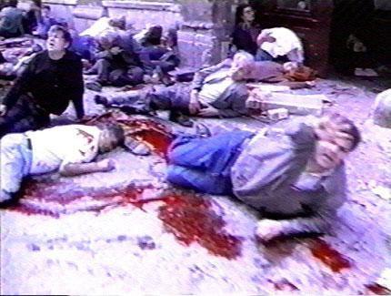 Sarajevo Markale Market victims/ Photo: www.srebrenica-genocide.blogspot.com