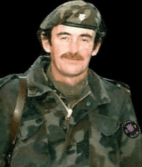 Thomas Crowley, Major of Croatian Army (1991 - 1995)