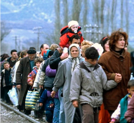 Over 3 million displaced in wars that raged in Croatia and Bosnia and Herzegovina  1991 - 1995