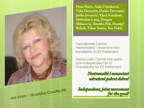 Ina Vukic for EU Parliament