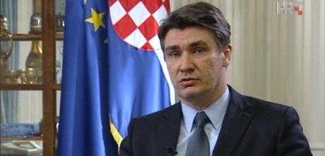 Zoran Milanovic, Prime Minister of Croatia   Photo: www.hrt.hr