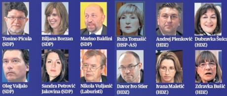 July 2013 EU Parliament representatives for Croatia   Photo Pixsell