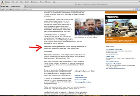 Tim Judah BBC article edited version 26 April 2013