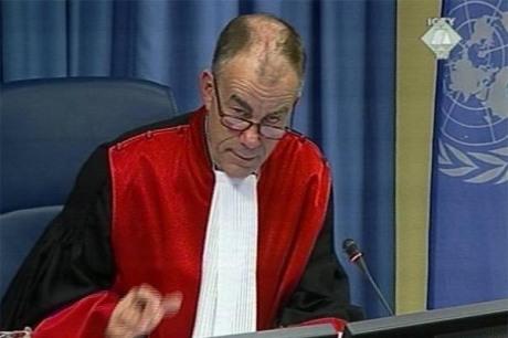 ICTY Judge Frederik Harhoff