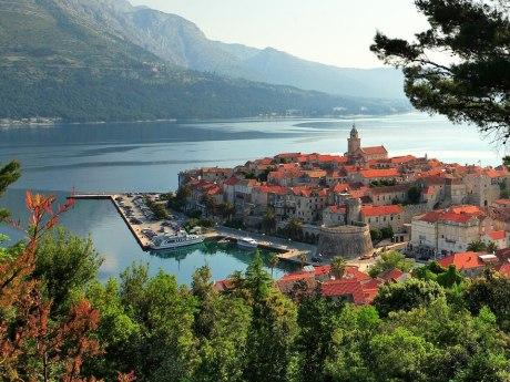 Old Korcula town Croatia