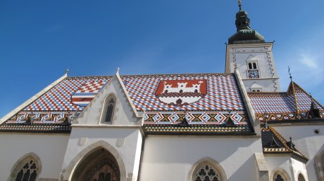 St Marl's church Zagreb Croatia
