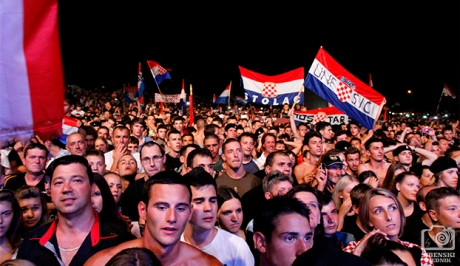 Cavoglave Croatia Victory Day 2013 Photo: dalmacijanews.com