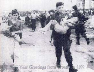 Croatia December 1992