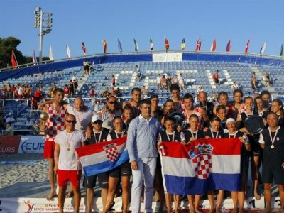 Croatian Handball team summer 2013