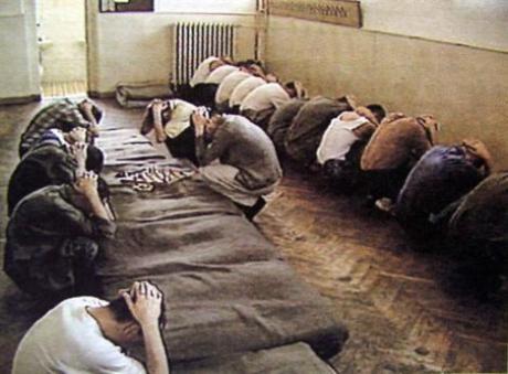 Morinj concentration camp 1991/1992  Photo: ddrrh.com