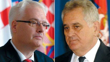 Ivo Josipovic (L) and Timislav Nikolic (R)