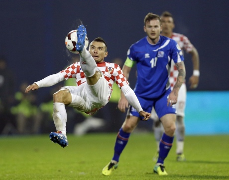 Croatia Vs Iceland 19 November 2013 Photo: Getty Images