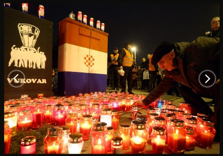 Zagreb remembers Vukovar - Nov 2013 Photo: Goran Stanzl/Pixsell