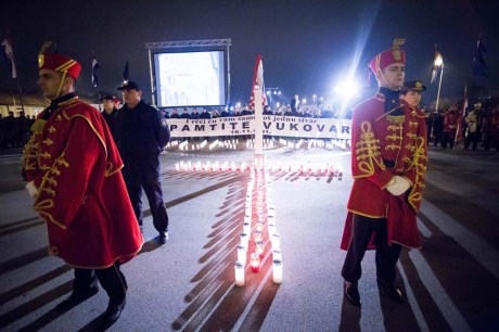 Zagreb Remembers Vukovar Photo: Ivan Klindic/Cropix