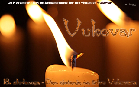 Vukovar Croatia rembrance Day
