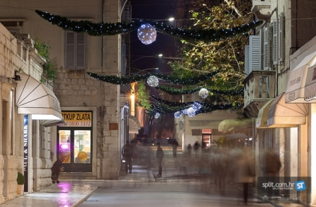 Advent in Split, Croatia