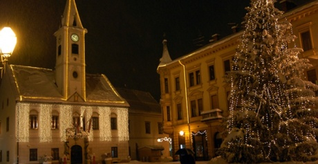 Advent in Varazdin, Croatia