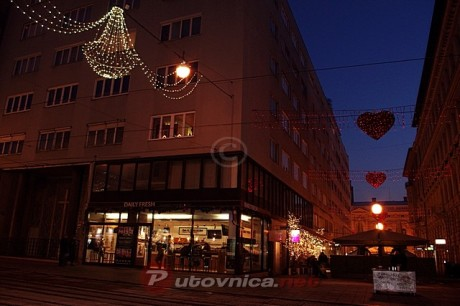 Advent on Zagreb city streets, Croatia