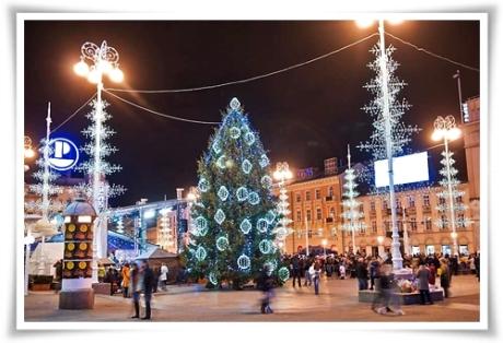 Advent on Ban Jelacic Square, Zagreb, Croatia