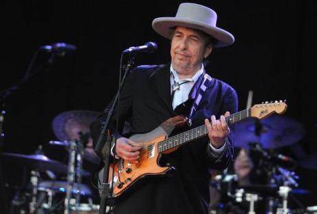 Bob Dylan   P{hoto: Fred Tanneau/AFP