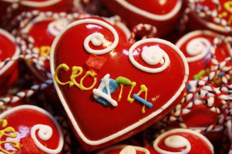 Advent in Croatia Licitar gingerbread hearts