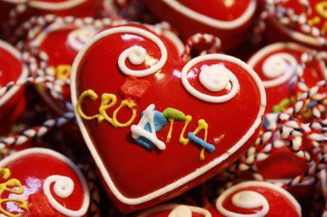 Advent in Croatia Licitar gingerbread hearts