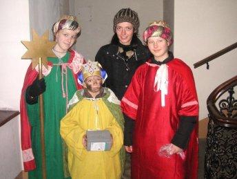 "Croatian Zvjezdari - ""Starmen"" - get ready to wish well for the Feast Day of Three Kings/Epiphany Photo credit: Wikimedia Commons"