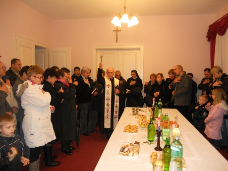 Blessing of home on Epiphany in Croatia 2013 Photo: www.novska.hr