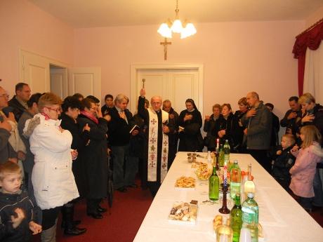 Blessing of home on Epiphany in Croatia 2013 Photo: www.novska.hr