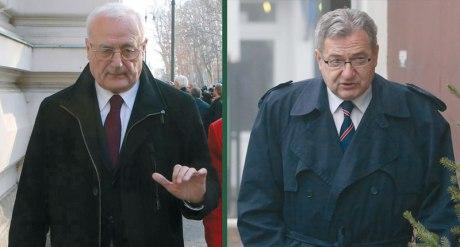 Josip Perkovic (L) Zdravko Mustac (R)