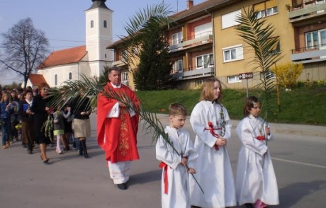 Palm Sunday 2014 Cakovec, Croatia