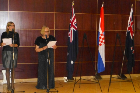 ANZAC Day 2014 in Korcula, Croatia