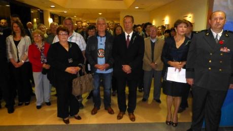 ANZAC Day 2014 in Korcula, Croatia Australian-Croatians commemorate