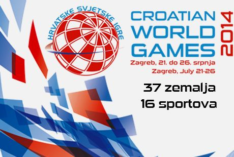 Croatian World Games 2014 Zagreb, July 21 - 26 37 Countries  16 Sports