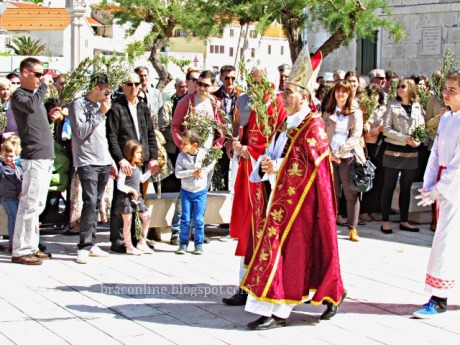 Palm Sunday 2014, Pucisce, Island of Brac, Croatia