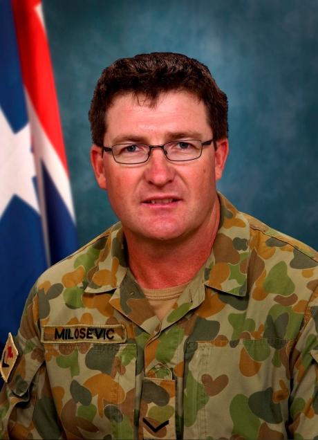 Lance Corporal Stjepan Milosevic Photo: Australian Dep't of Defence
