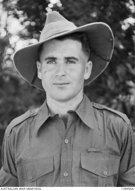Leslie Thomas Starcevich, VC Photo: Australian War Museum