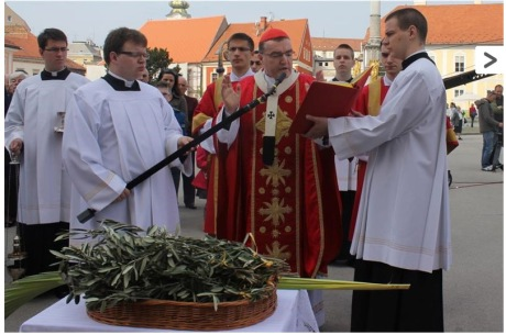Palm Sunday 2014 Zagreb, Croatia
