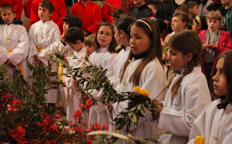 Palm Sunday Ostarije, Croatia Photo: Josip Anusic