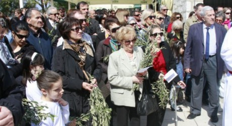 Palm Sunday 2014 Sibenik Croatia