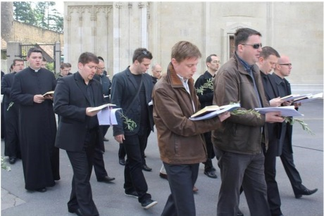 Palm Sunday 2014 Zagreb Croatia