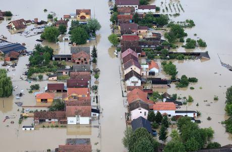 Slavonia Croatia Floods 2014