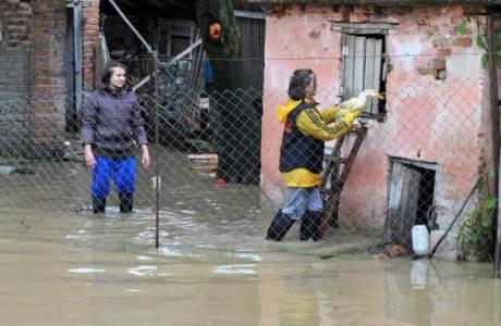 Slavonia Croatia Floods