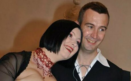 Dragana and David Haines at their wedding in Croatia - 2010