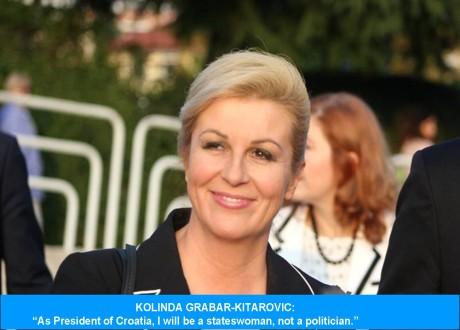 Kolinda Grabar Kitarovic Sept 2014